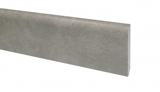 Klick Vinyl Sockelleiste Zement Boston Steinoptik 2200 x 70 x 10 mm