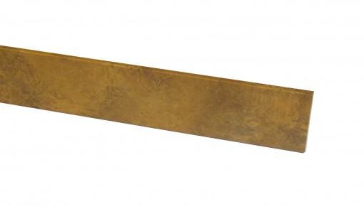 Klick Vinyl Deckenleiste Quarzit Oxid Steinoptik 2050 x 40 x 6 mm