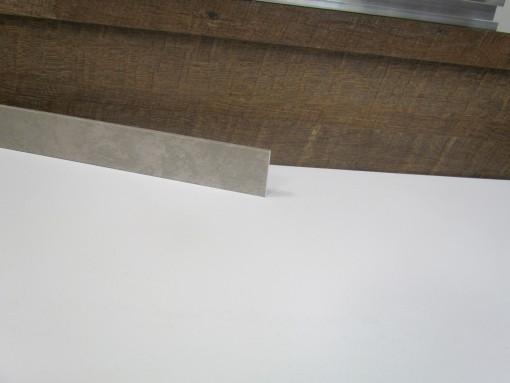Klick Vinyl Deckenleiste Zement Boston Steinoptik 2050 x 40 x 6 mm