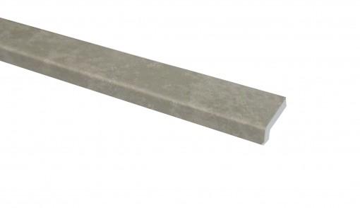 Klick Vinyl Randleiste Zement Boston Steinoptik 2200 x 25 x 10 mm