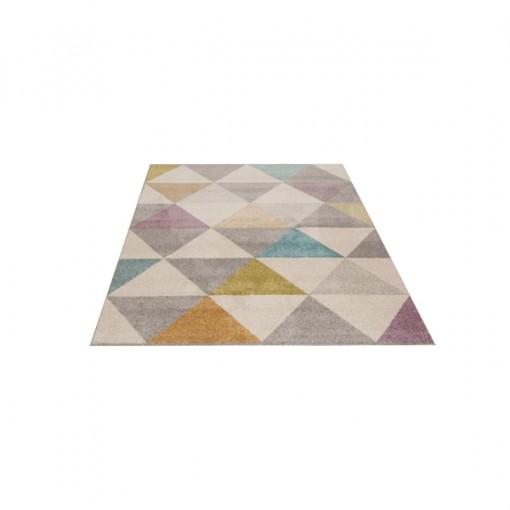 Teppich Multicolor gemustert 120x170 cm, Frisee Modern
