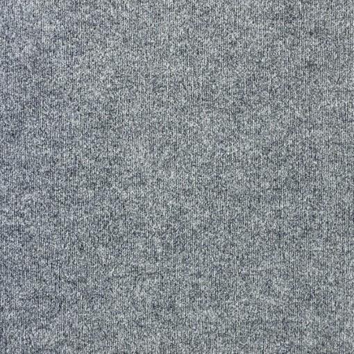 Teppichfliese Rex Grau 50 x 50 cm