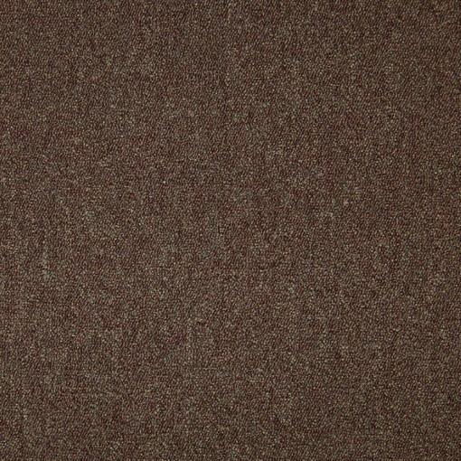 Teppichfliese Diva Brown 50 x 50 cm