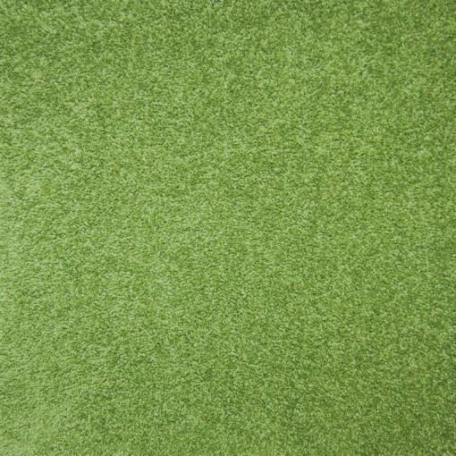 Teppichfliese Andante Green 50 x 50 cm, besonders hoher Flor