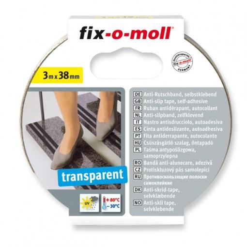 Anti-Rutschband fix-o-moll, selbstklebend 3m x 38mm