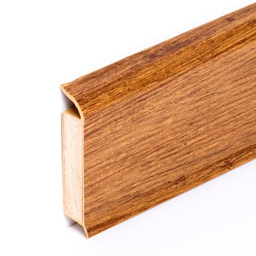 Fußleiste Goldeiche Rustikal B x H: 13 x 60 mm, 250 cm lang