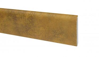 Klick Vinyl Sockelleiste Quarzit Oxid Steinoptik 2200 x 70 x 10 mm