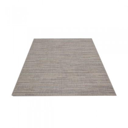 Teppich Blau-Grau gemustert 120x170 cm, Flachgewebe