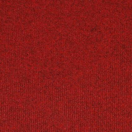 Teppichfliese Prima Red 50 x 50 cm