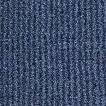Teppichfliese Diva Blue 50 x 50 cm
