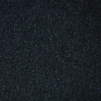 Teppichfliese Largo Anthrazit 50 x 50 cm, besonders Schmutz abweisend