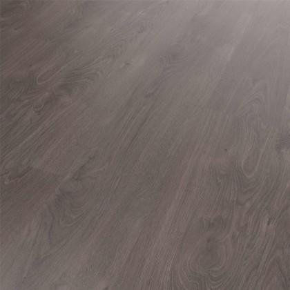 Klick Vinyl Diele Basico Speyside Graubraun dunkel, umlaufende V-Fuge