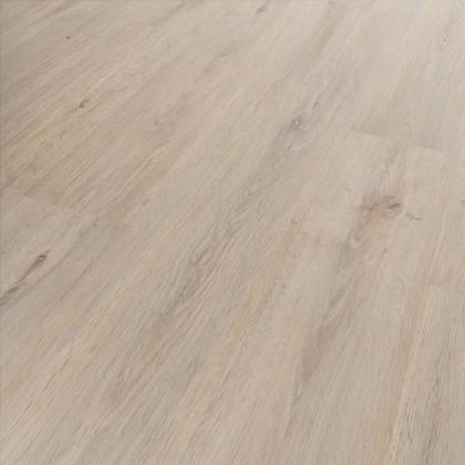 Klick Vinyl Diele Basico Inseln Holzoptik Weiß-Natur, umlaufende V-Fuge