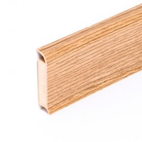 Kernsockelleiste Tuscany Walnut für KLICK VINYL Designböden B x H: 13 x 60 mm, 250 cm lang