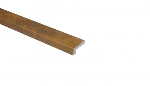Klick Vinyl Randleiste Quarzit Oxid Steinoptik 2200 x 25 x 10 mm