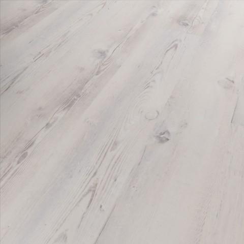 MUSTER Klick Vinyl Diele Basico Campebeltown Holzoptik Vintage weiß, umlaufende V-Fuge