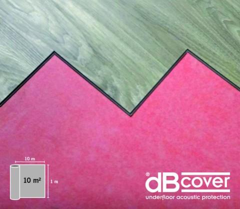 Wärme- und Schalldämmunterlage für Vinylböden