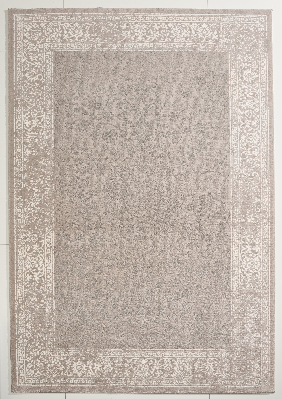 teppich grau wei gemustert 160x230 cm frisee modern klick vinyl. Black Bedroom Furniture Sets. Home Design Ideas