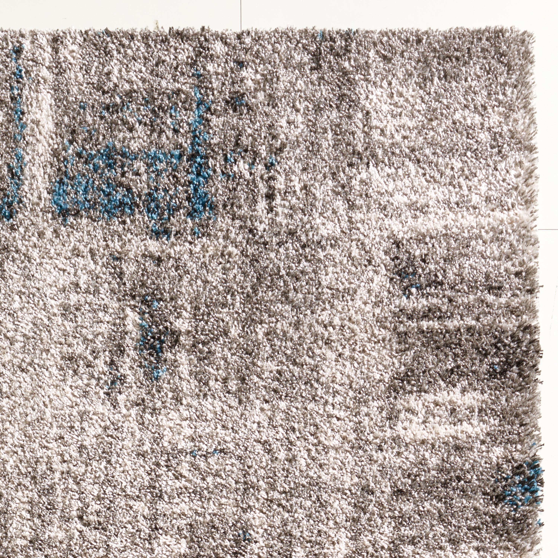 teppich grau gemustert 120x170 cm frisee modern klick vinyl. Black Bedroom Furniture Sets. Home Design Ideas