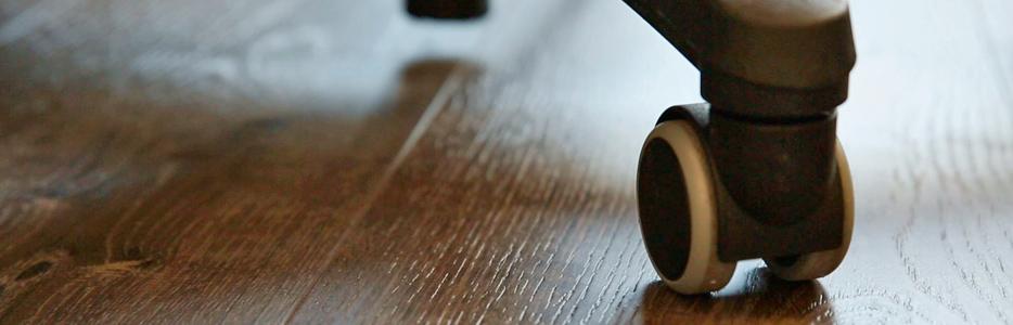 Vinyl-Bodenbelag im Büro