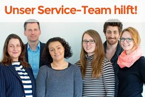 Unser Service - Team hilft gerne